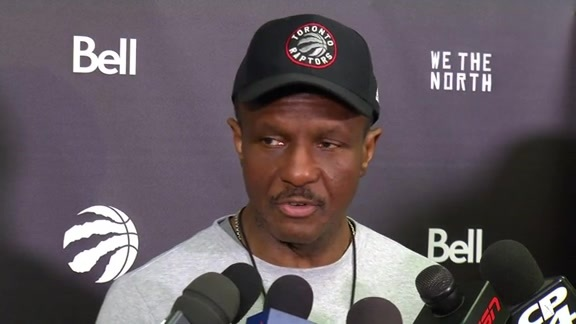 Raptors Shootaround: Dwane Casey - April 26, 2016