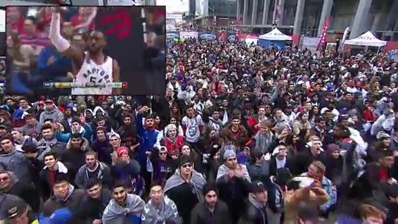 Raptors Highlights: Patterson's Three Ball - April 26, 2016