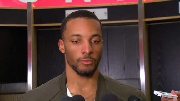 Raptors Post-Game: Norman Powell - April 26, 2016