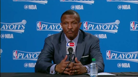 Raptors Post-Game: Dwane Casey - April 26, 2016