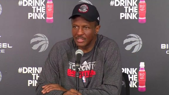Raptors Practice: Dwane Casey - April 27, 2016
