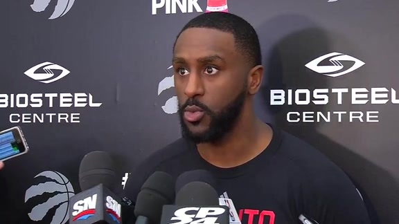 Raptors Practice: Patrick Patterson - April 28, 2016