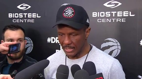 Raptors Practice: Dwane Casey - April 28, 2016