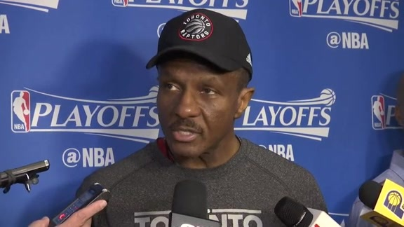Raptors Shootaround: Dwane Casey - April 29, 2016