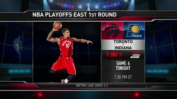 Raptors Game Preview: Raptors at Pacers: Game 6 - April 29, 2016