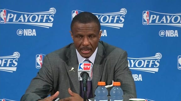Raptors Post-Game: Dwane Casey - April 29, 2016