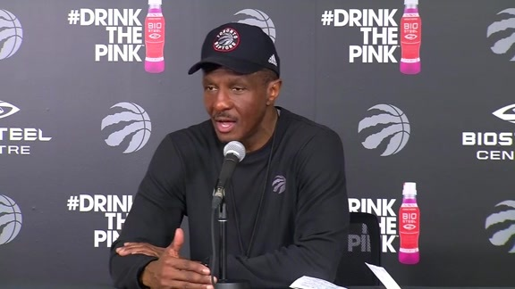 Raptors Practice: Dwane Casey - April 30, 2016