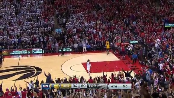 Game Highlights: Raptors vs. Pacers Game 7 - May 1, 2016