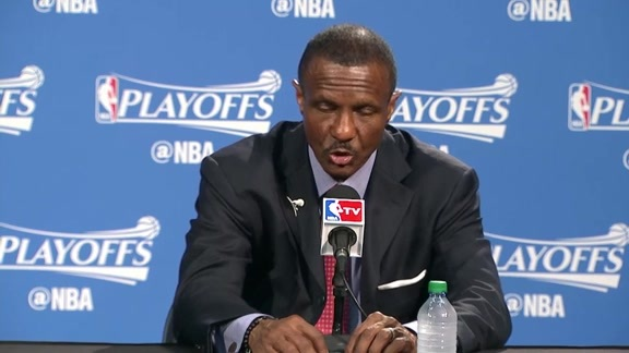 Raptors Post-Game: Dwane Casey - May 1, 2016