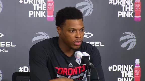 Raptors Practice: Kyle Lowry - May 2, 2016