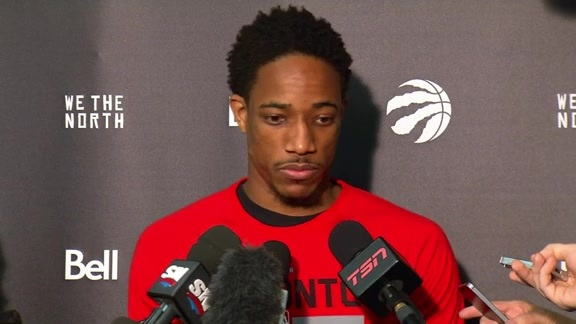 Raptors Shootaround: DeMar DeRozan - May 3, 2016