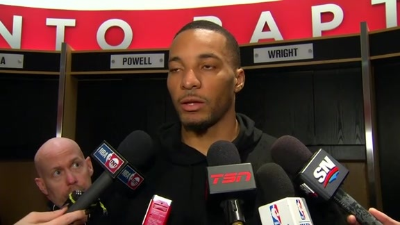 Raptors Post-Game: Norman Powell - May 3, 2016