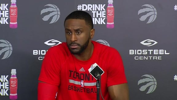 Raptors Practice: Patrick Patterson - May 4, 2016