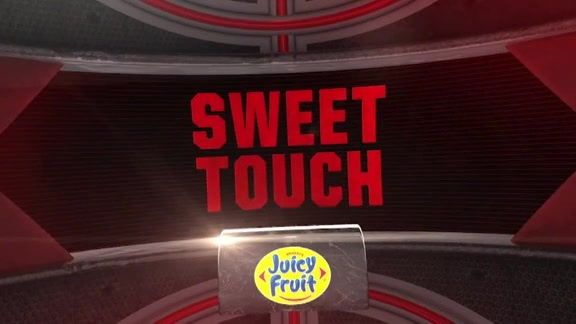 Juicy Fruit Sweet Touch: Play of the Game - May 4, 2016