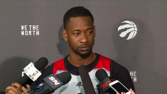 Raptors Shootaround: Terrence Ross - May 5, 2016