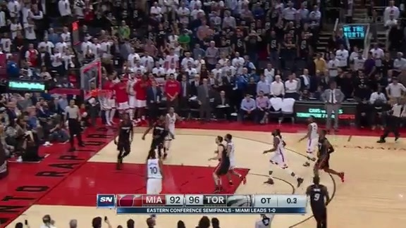 Game Highlights: Raptors vs. Heat Game 2 - May 5, 2016