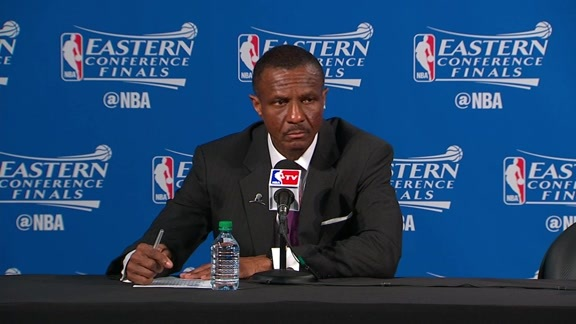 Raptors Game-Post: Dwane Casey - May 21, 2016