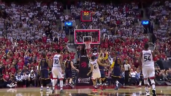 Raptors Highlights: Toronto vs Cleveland Game 3 - May 21, 2016