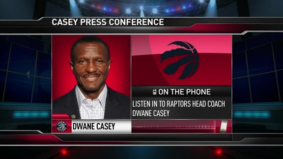 Raptors Practice: Dwane Casey - May 24, 2016