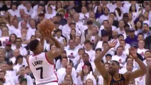 Raptors Highlights: Lowry Crosses Thompson - May 23, 2016