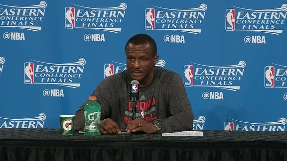Raptors Post-Game: Dwane Casey - May 25, 2016