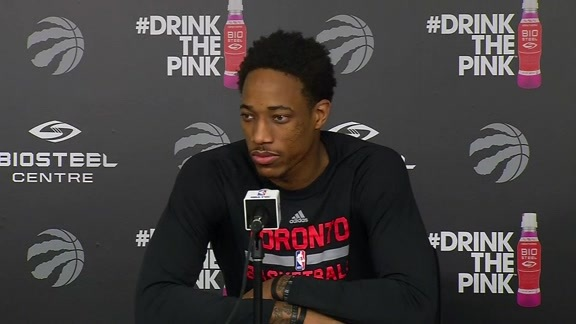 Raptors Practice: DeMar DeRozan - May 26, 2016