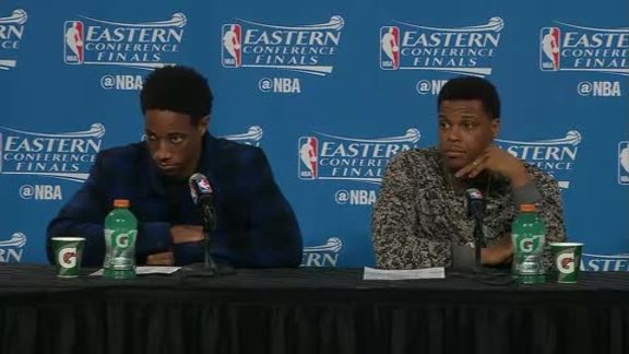 Raptors Post-Game: DeMar DeRozan & Kyle Lowry - May 25, 2016