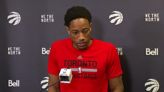 Raptors Shootaround: DeMar DeRozan - May 27, 2016