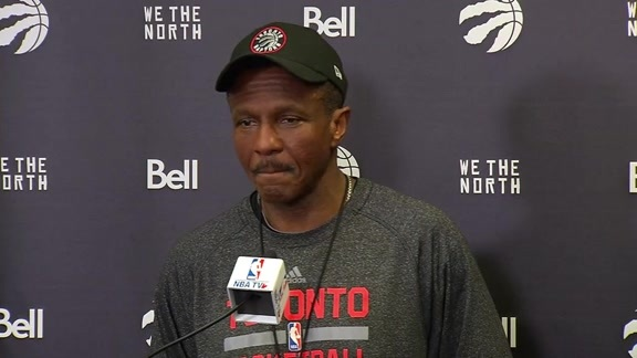 Raptors Shootaround: Dwane Casey - May 27, 2016