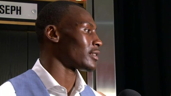 Raptors Post-Game: Bismack Biyombo - May 27, 2016