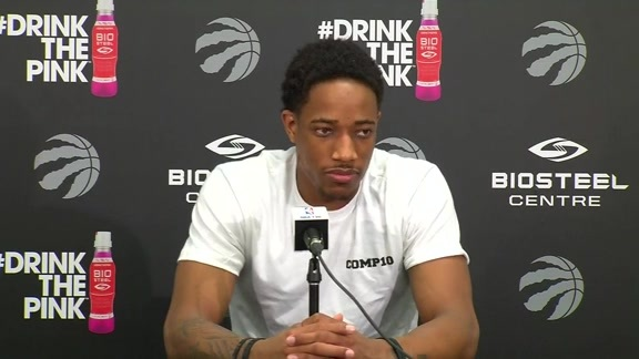 Raptors Locker Clean Out: DeMar DeRozan - May 28, 2016