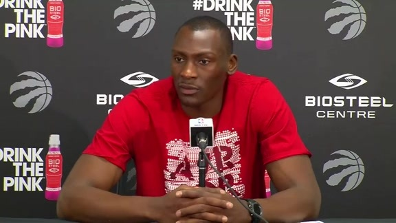 Raptors Locker Clean Out: Bismack Biyombo - May 28, 2016