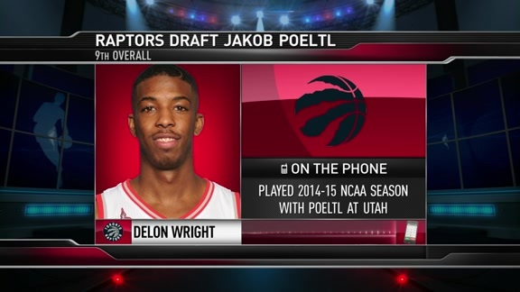 Delon Wright  - June 23,  2016