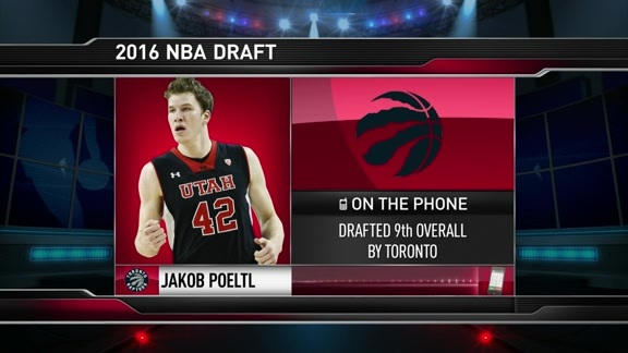 Jakob Poeltl Phone Interview - June 23, 2016