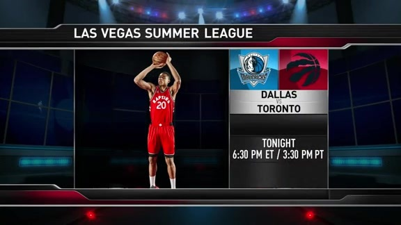 Raptors Summer League: Game Preview - July 11, 2016
