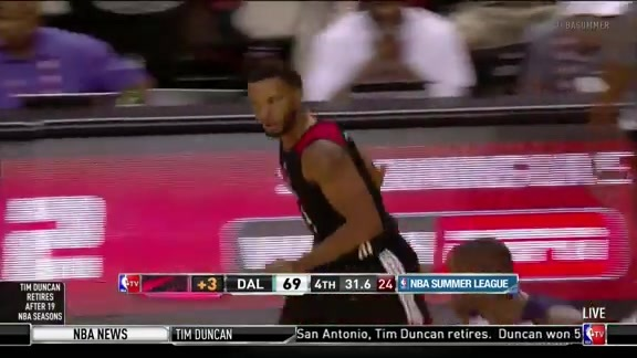 Norman Powell Highlights - July 11, 2016
