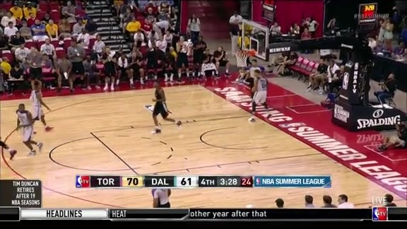 Delon Wright Highlights - July 11, 2016