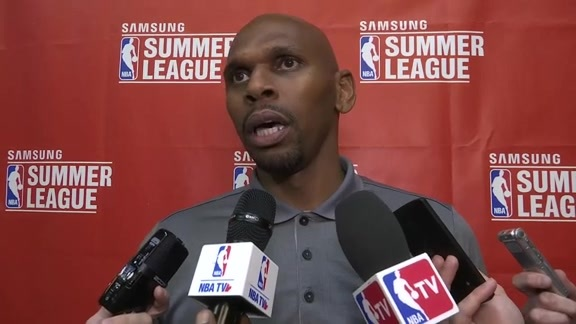 Raptors Summer League: Jerry Stackhouse- July 11, 2016