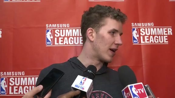 Raptors Summer League: Jakob Poeltl - July 11, 2016