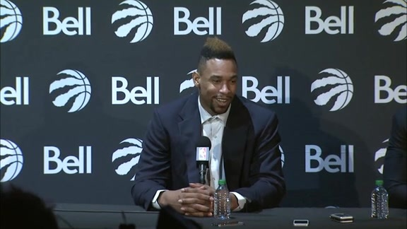 Raptors Press Conference: Jared Sullinger - July 14, 2016