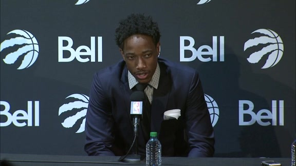 Raptors Press Conference: DeMar DeRozan - July 14, 2016
