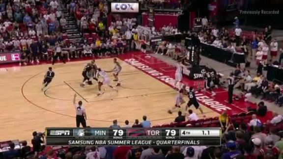Raptors Summer League: Raptors vs. Timberwolves - July 16, 2016