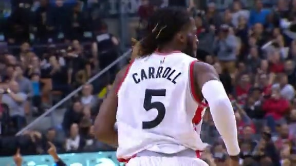 Raptors Highlights: DeMarre Carroll's Top 10 Plays