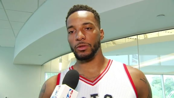 Raptors Media Day: Norman Powell - September 26, 2016