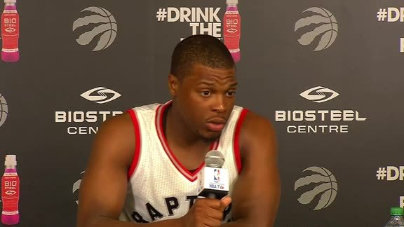Raptors Media Day: Kyle Lowry - September 26, 2016