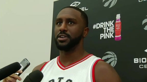 Raptors Media Day: Patrick Patterson - September 26, 2016