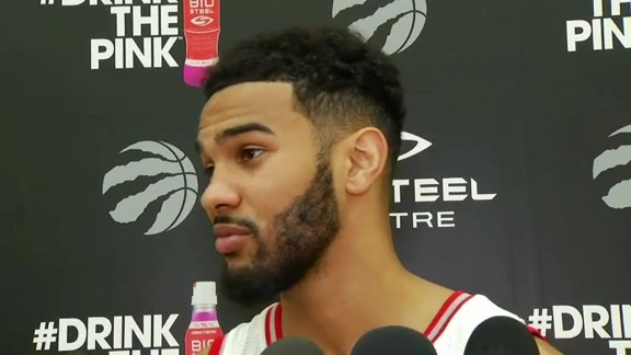 Raptors Media Day: Cory Joseph - September 26, 2016