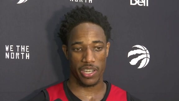 Raptors Training Camp: DeMar DeRozan - September 27, 2016