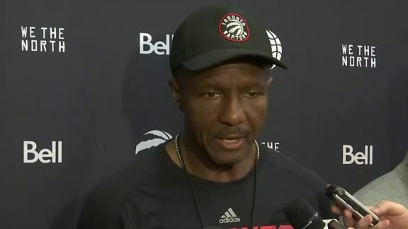 Raptors Training Camp: Dwane Casey - September 27, 2016