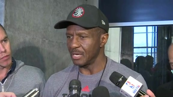 Raptors Training Camp: Dwane Casey - September 28, 2016